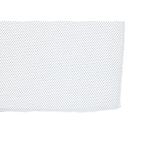 Pin Dot Baby Crib Sheet, Navy
