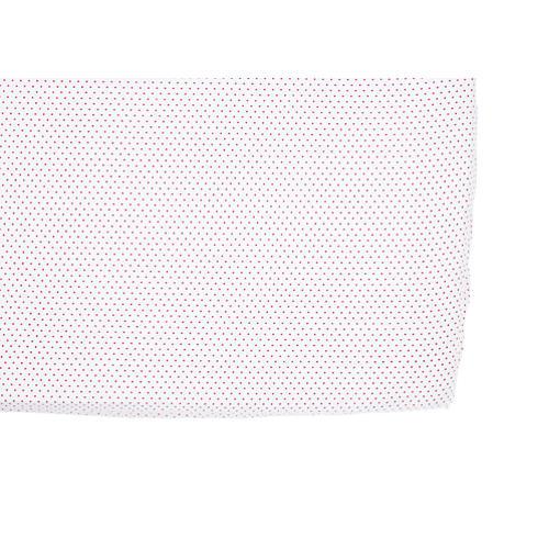Pin Dot Baby Crib Sheet, Fuchsia
