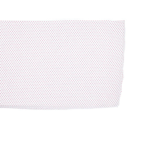 Pin Dot Baby Crib Sheet, Fuchsia