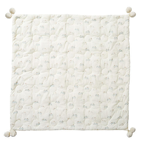 Bunny Baby Blanket, Mist