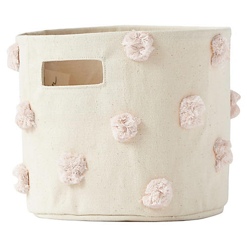 Pom-Pom Kids' Storage, Blush