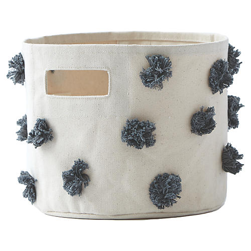 Pom-Pom Kids' Storage, Charcoal