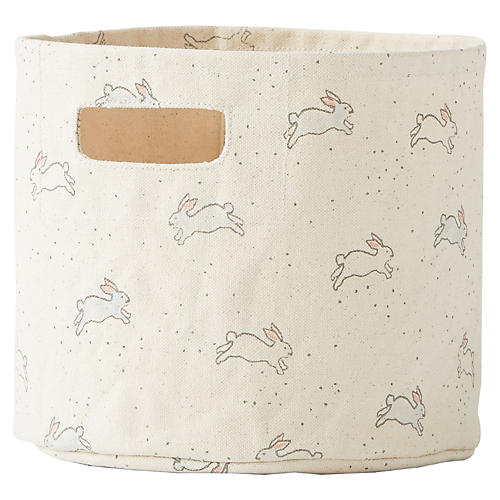 Tiny Bunny Kids' Storage, Beige/Gray