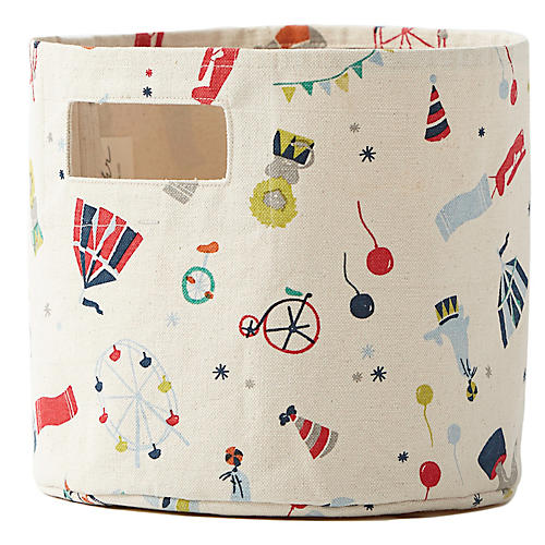 Big Top Kids' Storage, Red/Multi