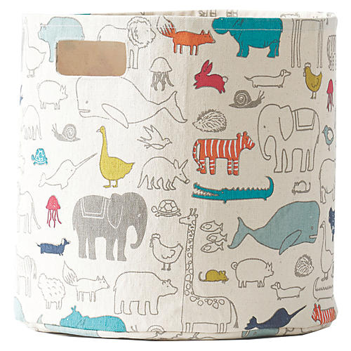 Noah's Ark Kids' Storage, Beige/Multi