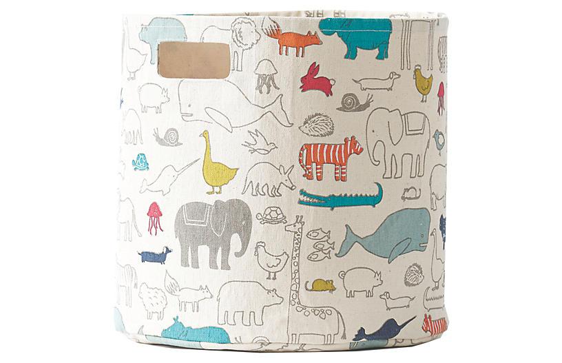 Noah's Ark Kids' Storage, Beige/Multi
