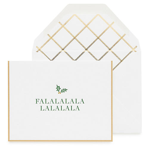 S/6 Falala Greeting Cards