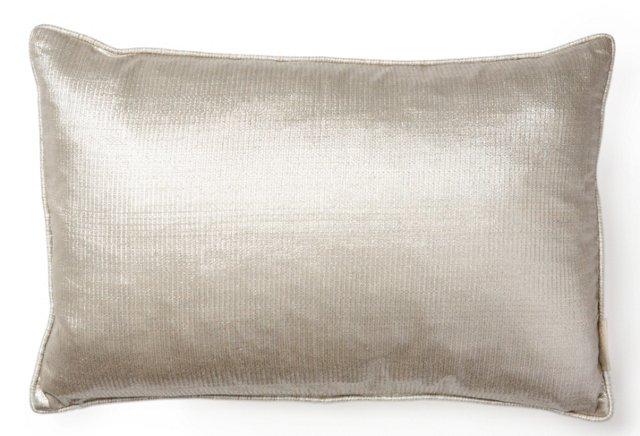 Pebble 13x20 Silk Pillow, Haystack