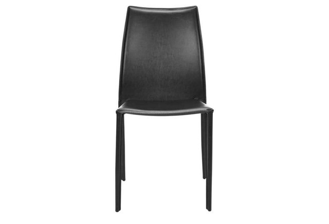 Black Westfield Side Chairs, Pair