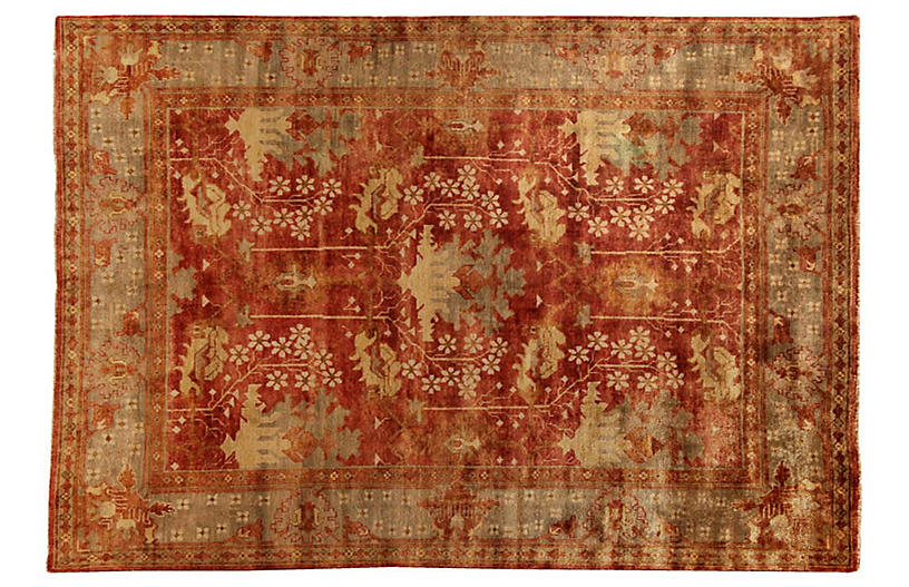 Geiger Oushak Rug Brick Traditional Rugs By Style