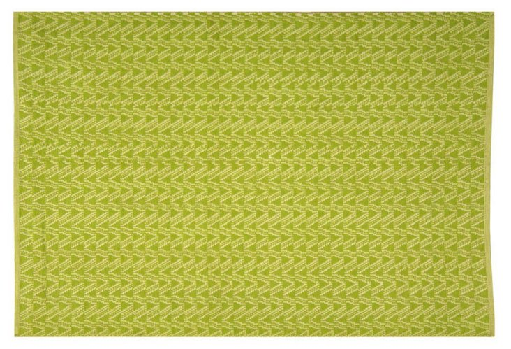 Thom Filicia Outdoor Rug, Lime