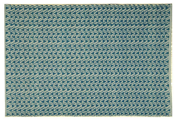 Thom Filicia Outdoor Rug, Blue