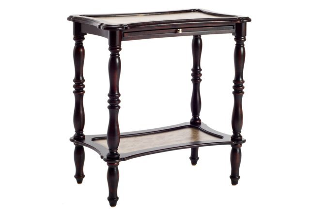 Spencer Side Table, Espresso