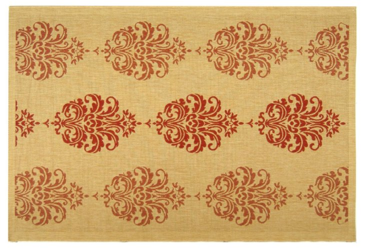Elise Outdoor Rug, Red
