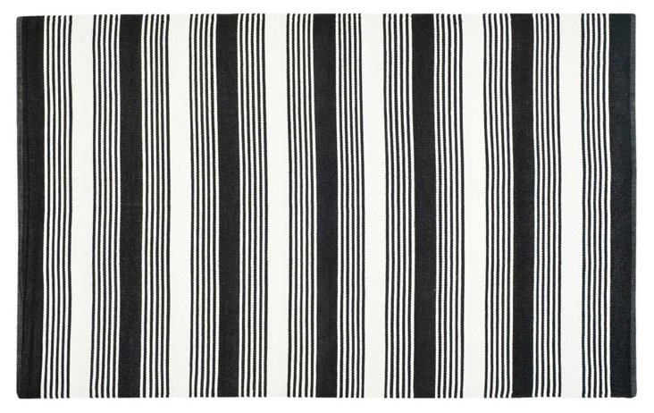 Thom Filicia Outdoor Rug, Black