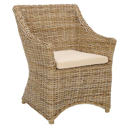 Piper Armchair, Wheat
