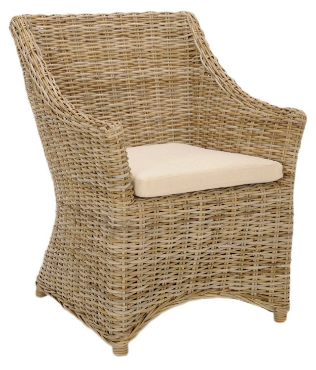 Phineas Armchair, Wheat