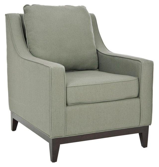 Henrietta Club Chair, Sage