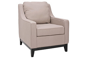 Henrietta Club Chair, Beige