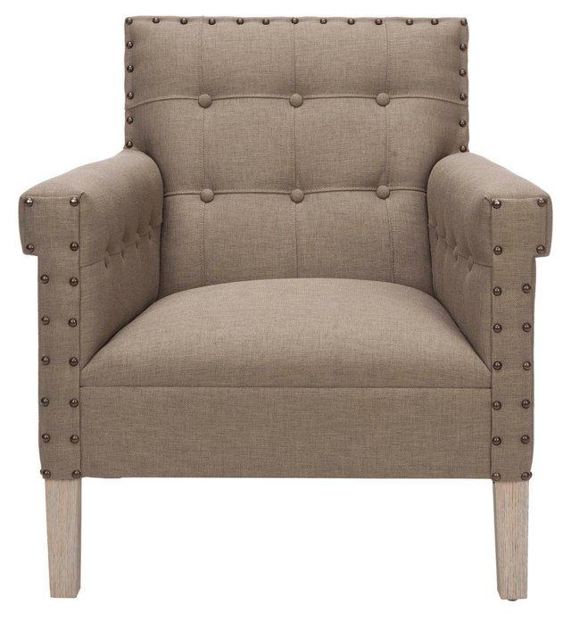 * Morgan Club Chair, Mink