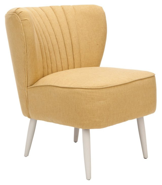 Eugenia Accent Chair, Marigold