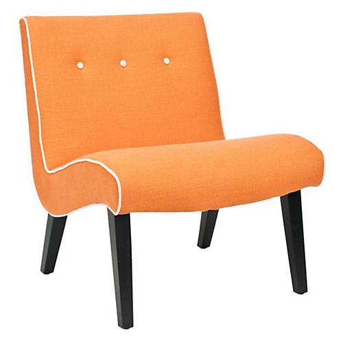 Maxwell Chair, Orange
