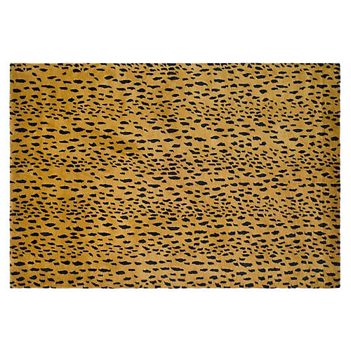 Kingston Rug, Gold/Brown