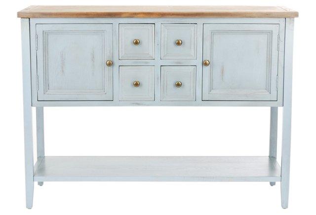 Hamilton Sideboard, Blue-Gray
