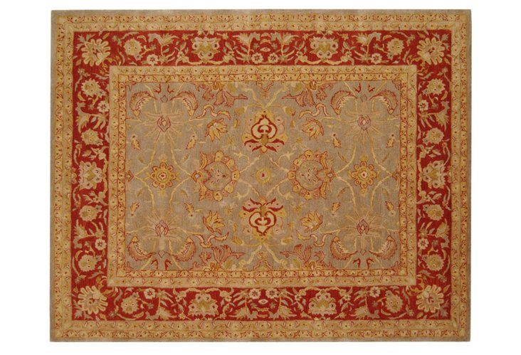 Lucas Rug, Soft Gold/Red