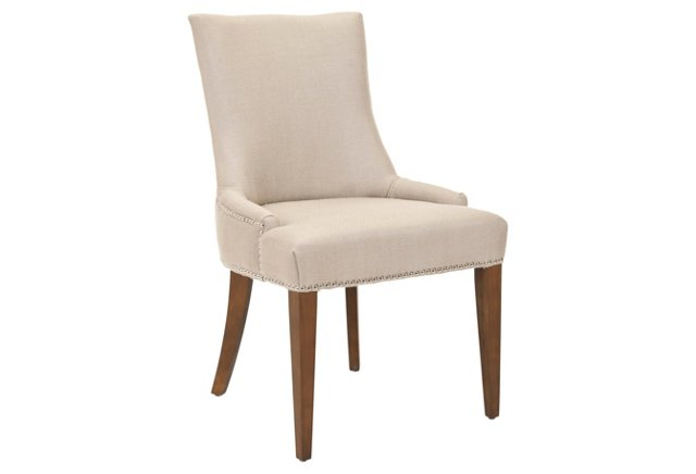 Hayward Dining Chair, Beige