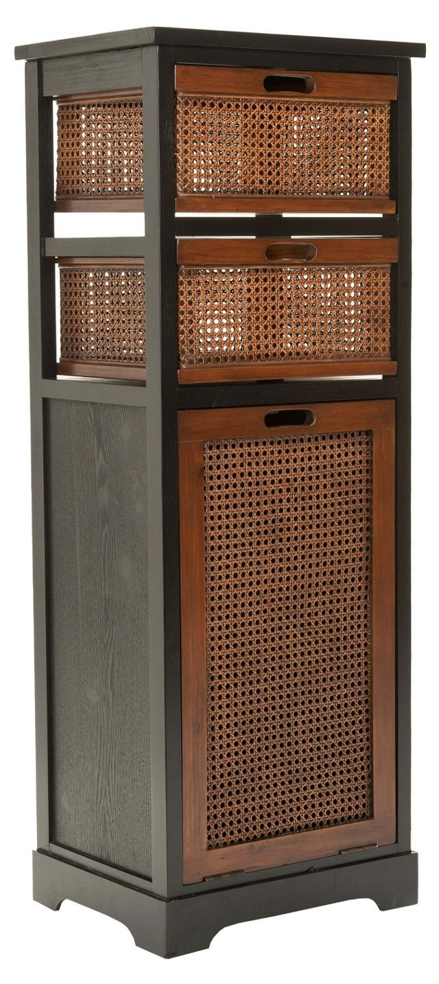 Marcia Storage Unit, Dark Brown