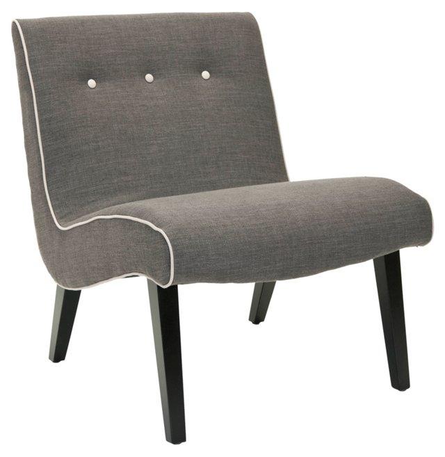 Micah Chair, Charcoal