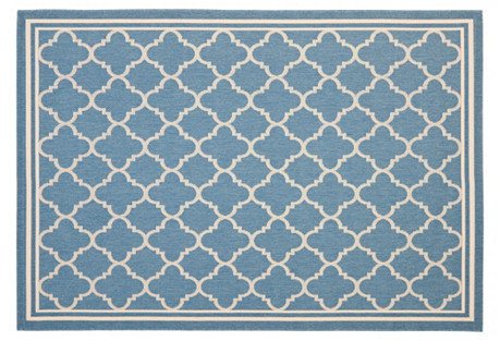 Vale Outdoor Rug, Blue