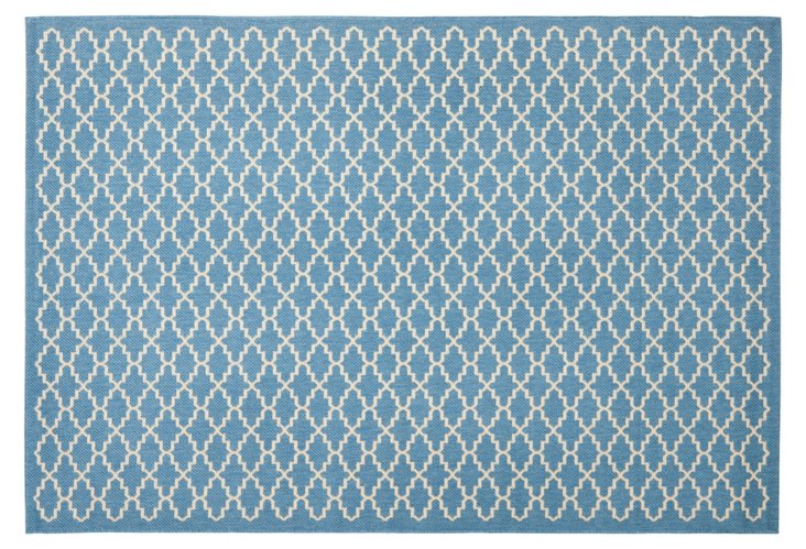 Ava Outdoor Rug, Blue