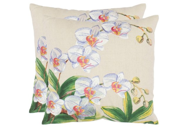 S/2 Pellicia 18x18 Pillows, Multi
