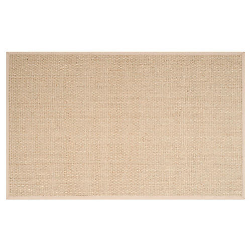 Malcolm Sea-Grass Rug, Beige