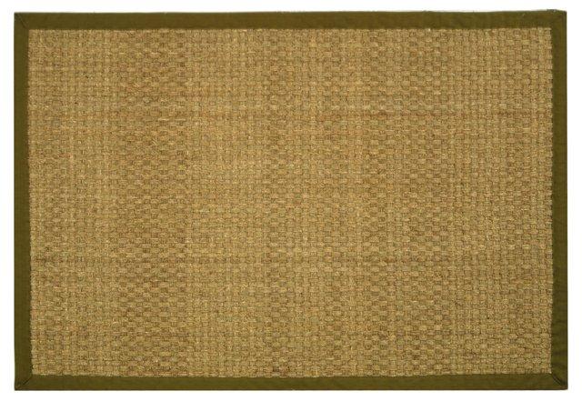 Malcom Sea-Grass Rug, Olive
