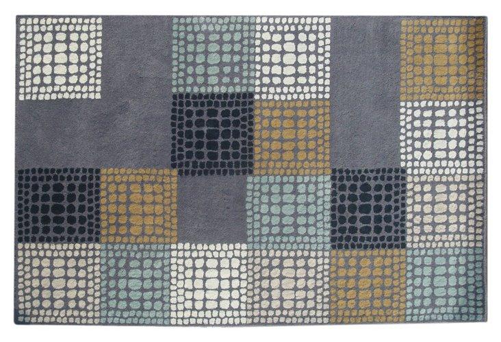 Bleeker Rug, Gray/Multi
