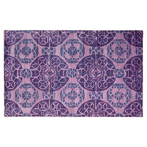 Bleeker Rug, Purple