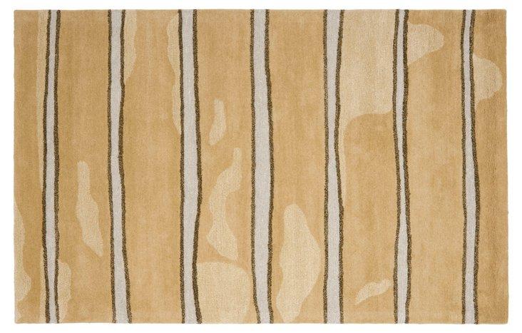 Martha Stewart Chalk Rug, Brown
