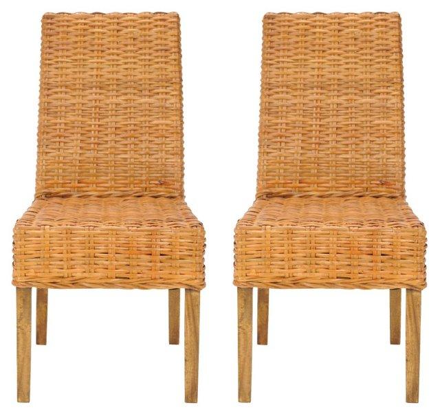 Kurt Side Chairs, Pair
