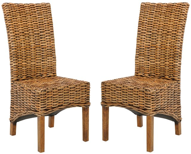 Paris Side Chairs, Pair