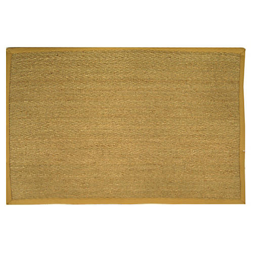 Cobain Sea-Grass Rug, Beige