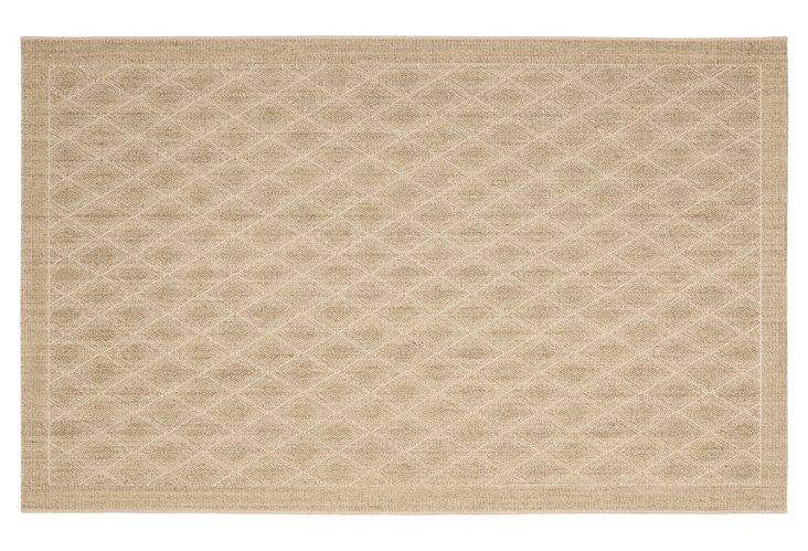 4' x 6' Luke Sisal-Blend Rug, Sand