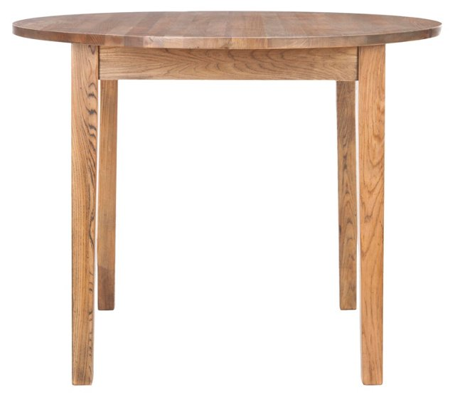 """Norma 40"""" Dining Table, Elm"""