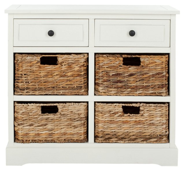 Hayden Storage Unit, White