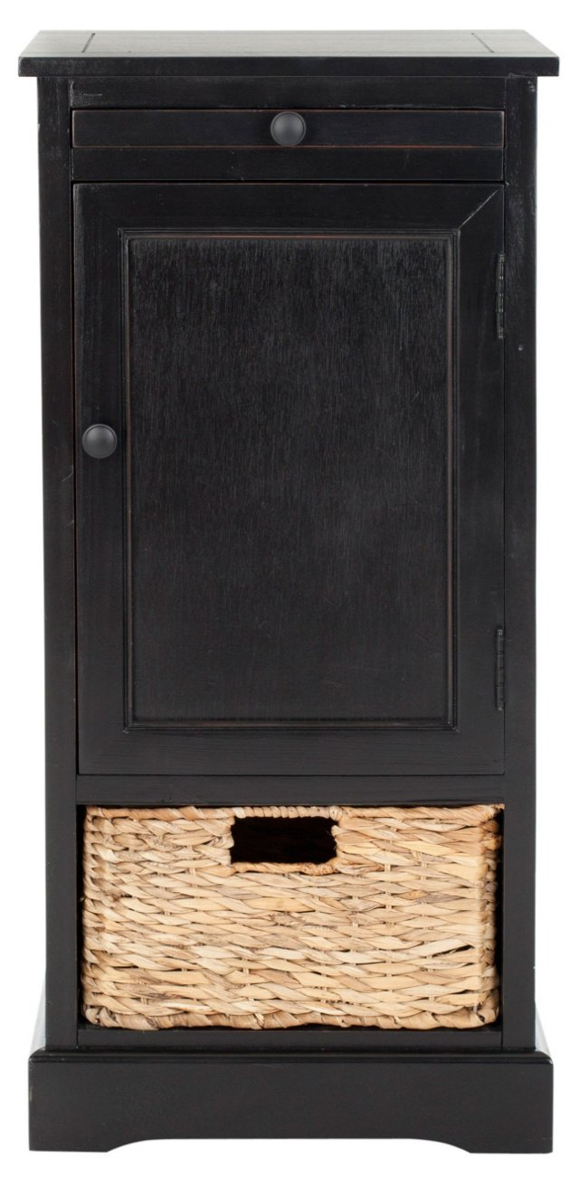 Matthews Storage Unit, Distressed Black