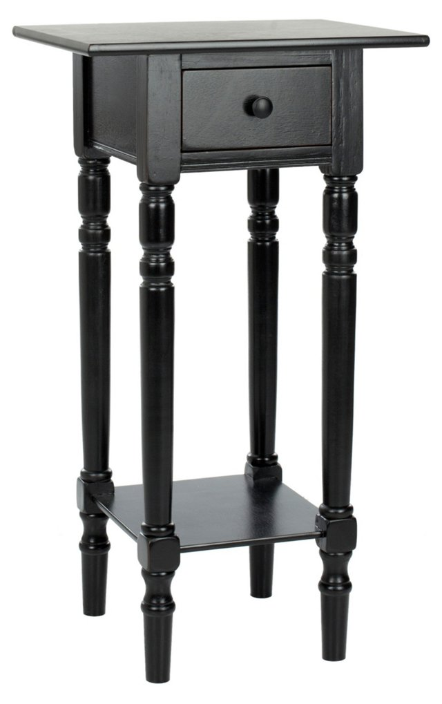 Ellery Side Table, Black