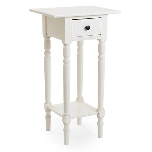 Fiona Nightstand, White