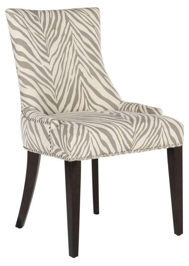 Hayward Dining Chair, Cream/Gray
